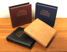 #1915 Stock Bravo! Estate Planning Portfolio Binders